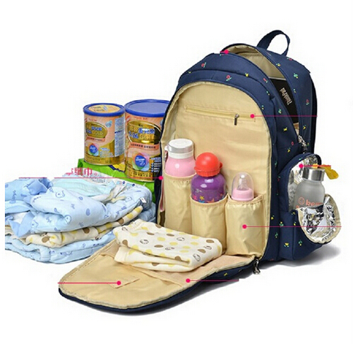 7 Colors 2017 Functional Maternity Backpack Baby Diaper Bags Nappy Changing Bags For Travel Mother Mummy With Big Capacity free shipping 5 colors 6pcs set 2016 functional maternidade baby diaper bags nappy changing bags for mummy with big capacity