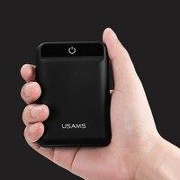 USAMS US CD22 Power Bank 10000mAh Mobile Phone PowerBank 10000 Mah Quick Charge Power Bank External