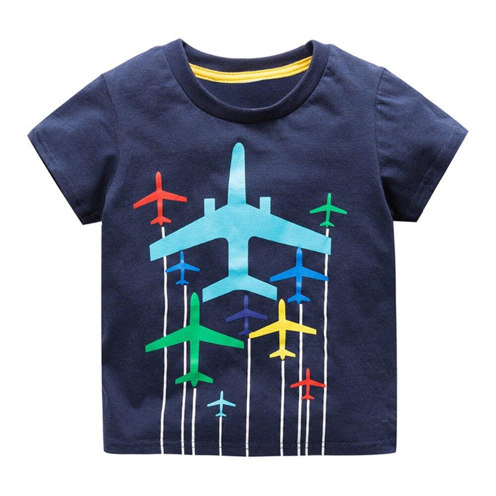 Boys Baby Topy Koszulki z krótkim rękawem T-shirt motoryzacyjny - Ubrania dziecięce - Zdjęcie 4