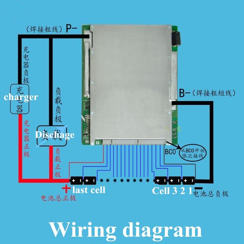 1pcs 26s bms 96v lithium battery pack bms 80a 200a 120a 150a 100a rh aliexpress com