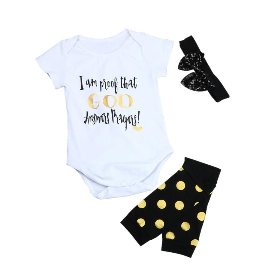 3pcs Infant Clothing Girls boys Romper Newborn Toddler Kid Baby Girl Boy Romper Top+Leg Warmer Headband Outfit Set