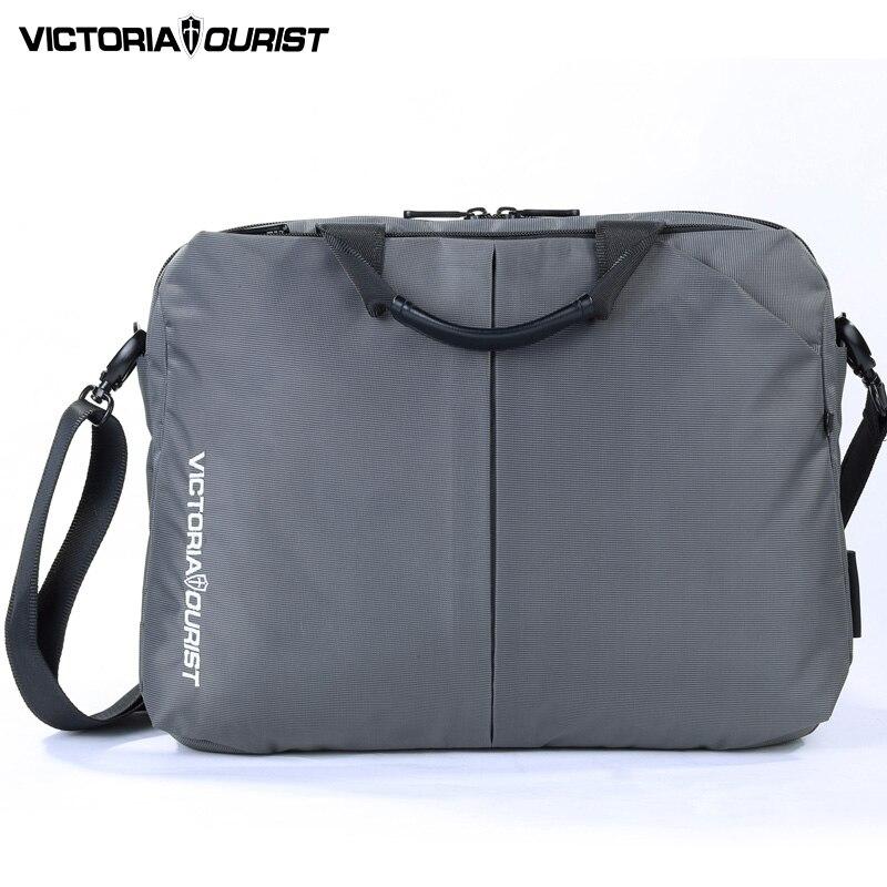 Männer Tasche Wasserdichte Business Tragbare Nylon Computer Handtaschen Zipper Schulter Laptop Einfache Tasche Männer Tasche Schulter Laptop Schwarz Letzter Stil Gepäck & Taschen