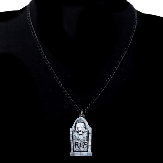 Tomb Gravestone Necklace