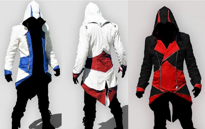 Aliexpress.com : Buy Assassins Creed 3 Conner Kenway Jacket Hoodie ...