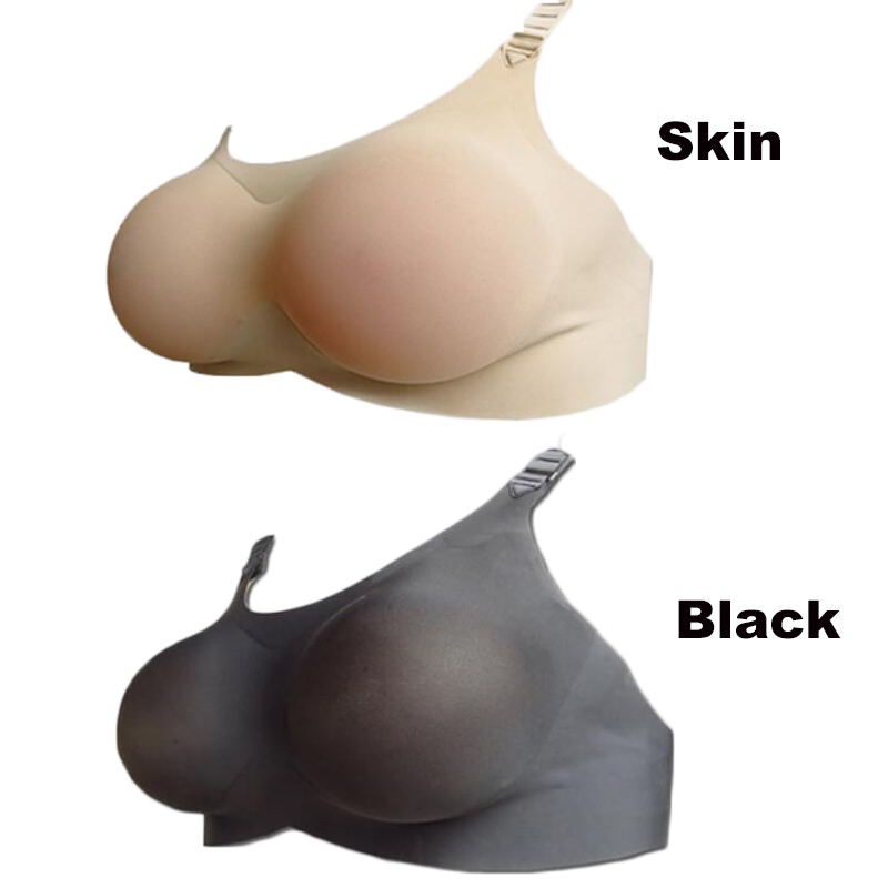 800 g 85C crossdresser artificial breasts prosthesis real female fake silicone boobs with bra convenient comfortable коммутатор xc ksd301 85c 85 tsw 301k 85c 2