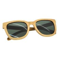 European American Fashion Men Sunglasses Casual Wooden Frame PC Lens UV400 Protective Eyewear Sunglasses