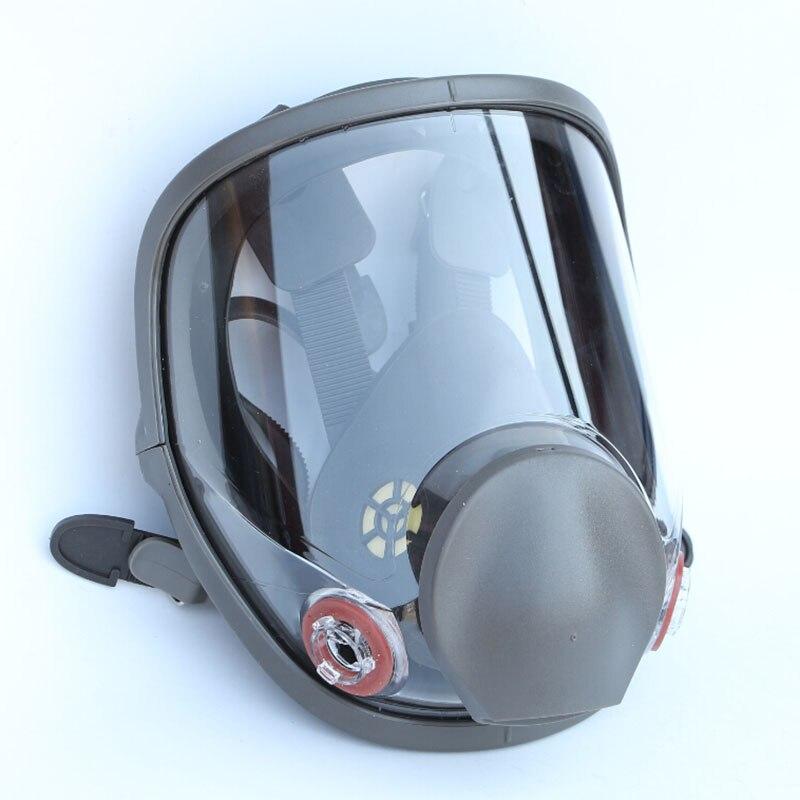 6800 Large View Full-face Gas Mask Respirator Painting Spraying Mask Mechanic Repair Chemical Free Shipping