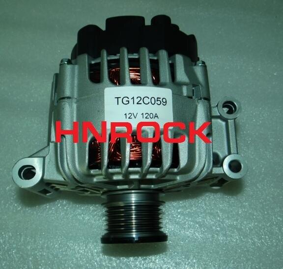 Nuevo HNROCK 12V 120A alternador 11334 A003TG5281ZEB A3TG5281 TG12C059 para VALEO