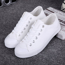 Women shoes 2018 new white canvas shoes female spring and summer white casual shoes woman students women sneakers