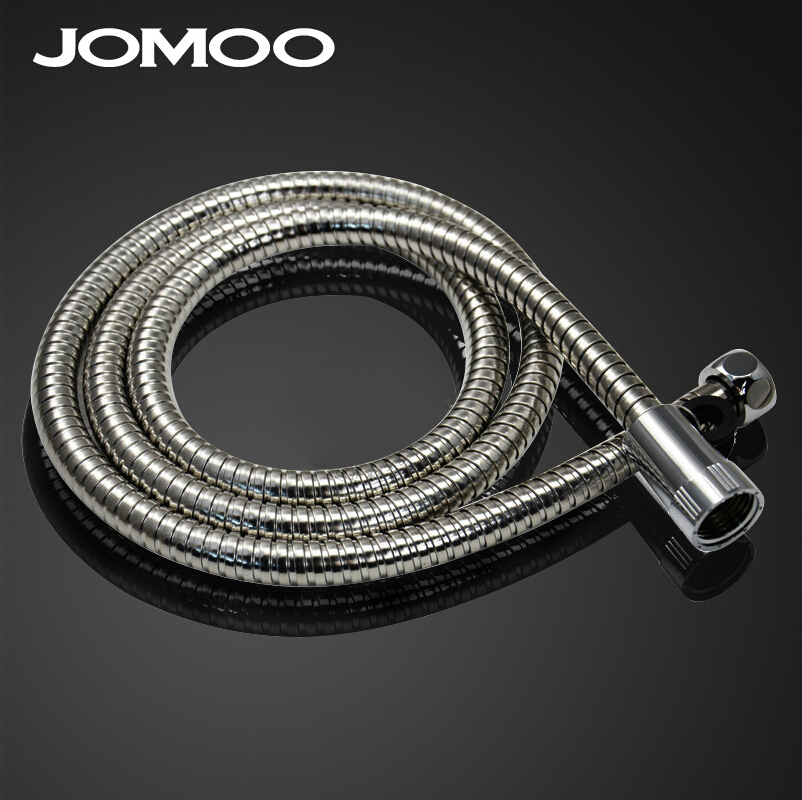 Water Head 1.5m Bathroom Heater Pipe Interlock Flexible And Chrome Shower Hose
