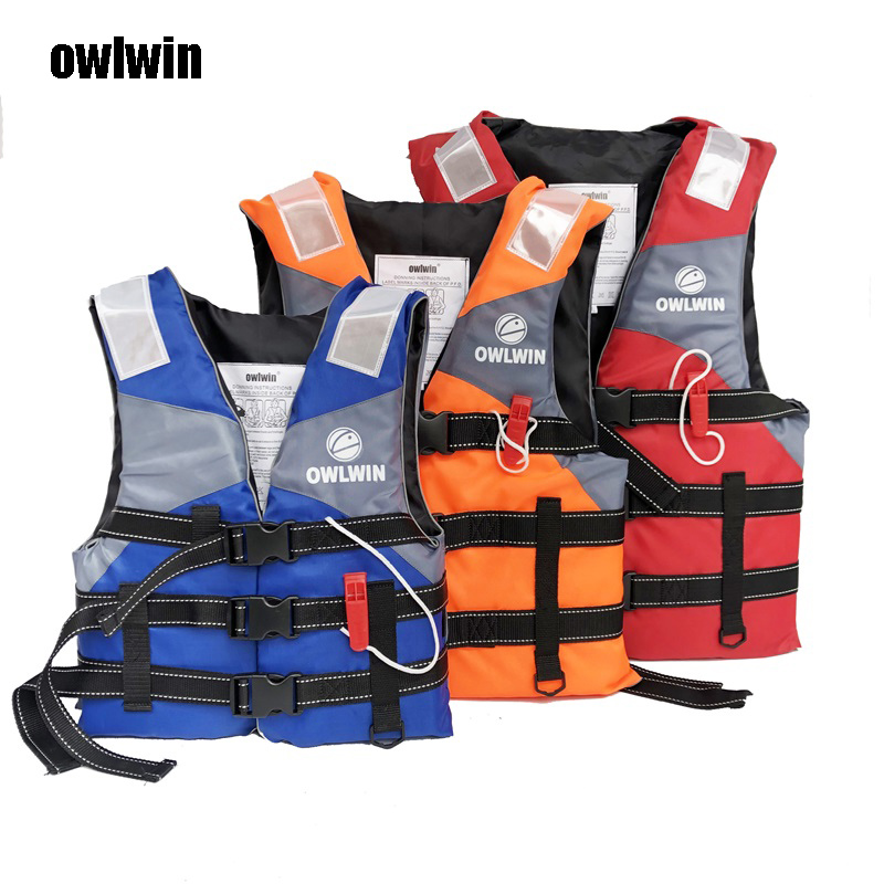 Owlwin Hot Sell Life Vest Outdoor Professional Life Jacket Swimwear Swimming Jackets Water Sport Survival Dedicated Child Adult