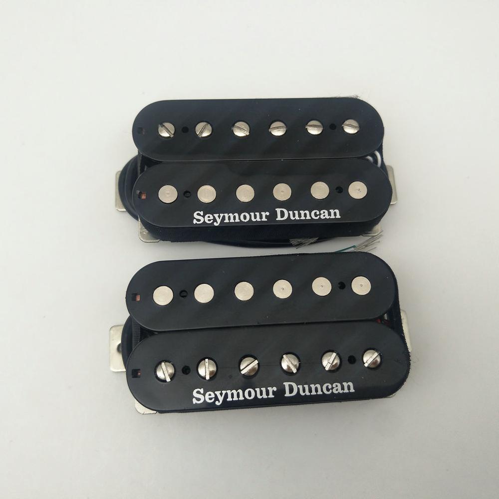 Seymour Duncan SH 4 JB SH 2n Jazz Hot Rodded Humbucker Black Guitar Pickup Set