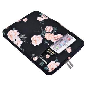 Image 4 - MOSISO 11 12 13 14 15 Polegada Bolsa Para Laptop À Prova D Água Para Os Homens Mulheres Laptop Sleeve Case para 2018 Novo Macbook pro 13.3 15.6 Ba Computador