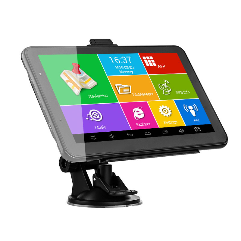 Image 5 - XGODY Android Car GPS Navigation HD 7 inch Truck Navigator 16GB WiFi Bluetooth Tablet Navitel North/South American Europe Maps-in Vehicle GPS from Automobiles & Motorcycles
