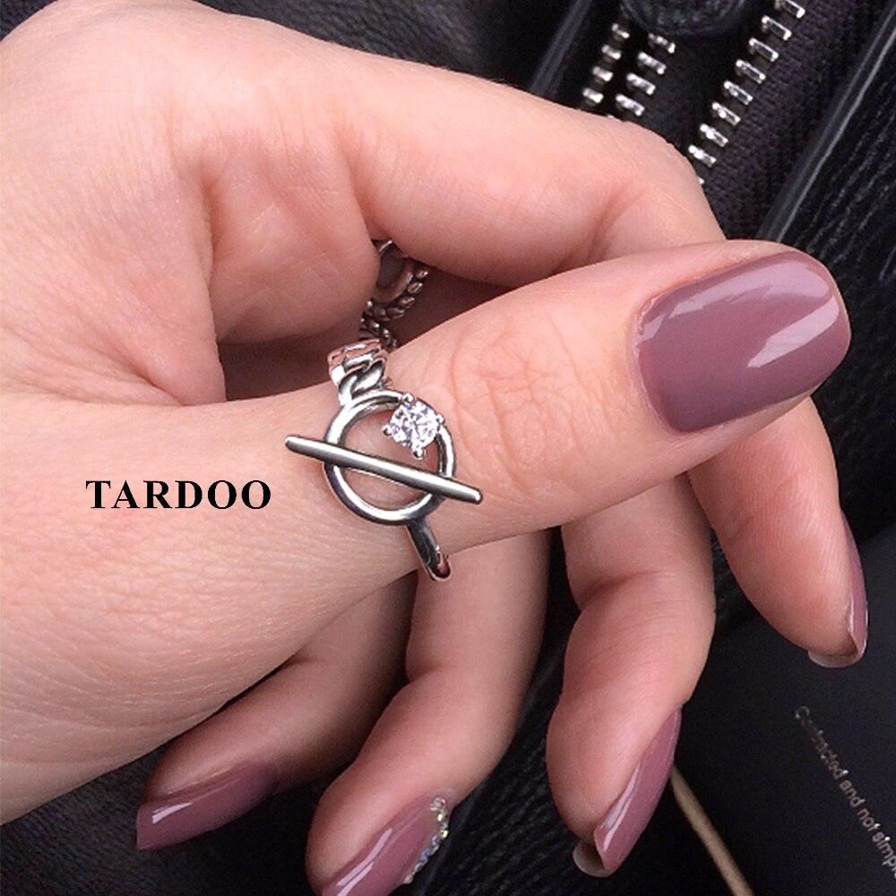 Tardoo Genuine 100% Pure 925 Sterling Silver Adjustable