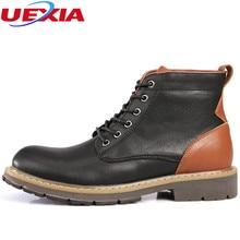 New Autumn Winter Luxury Designer Men's Boots Plush Fur Winter Cotton Shoes Men Fashion Dress Oxfords Ankle Martin Chelsea Boots