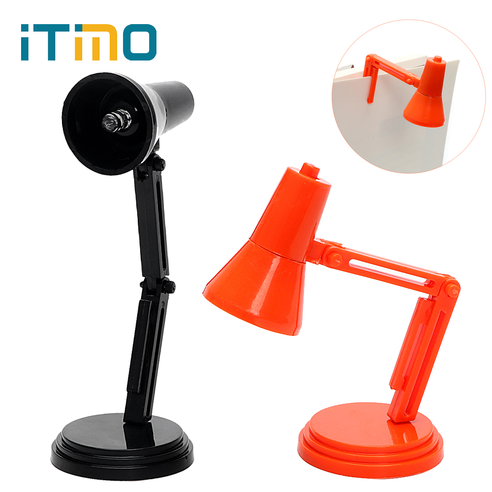 где купить iTimo Mini Book Reading Light Folding LED Deak Lamps Book Lights for Night Study Travel Portable With Battery Clip on Table Lamp по лучшей цене