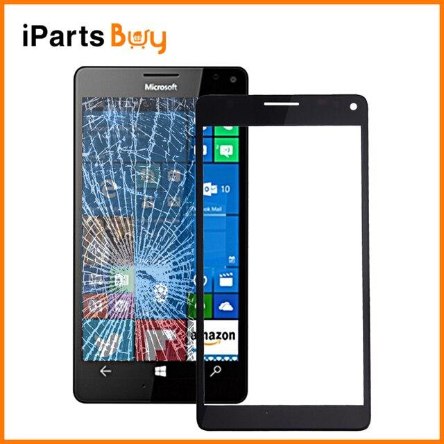 IPartsBuy для Microsoft Lumia 950 XL Оригинальная Передняя Экрана Внешний Стеклянный Объектив с Рамкой