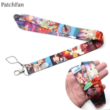 Patchfan Futurama famous cartoon lanyards neck straps necklace for phones keys bead id holders keychain webbing A1138