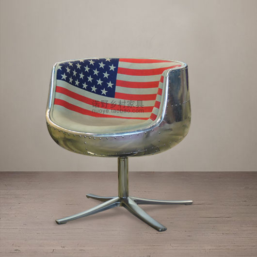 American Industrial Aviation Aluminum Furniture Office Chairs Bar Lounge  Chairs Industrial Village Loft Villa Furniture In Office Chairs From  Furniture On ...