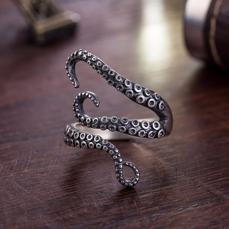 HTB15YlMOFXXXXcFapXXq6xXFXXXR - Adjustable Octopus Design Ring