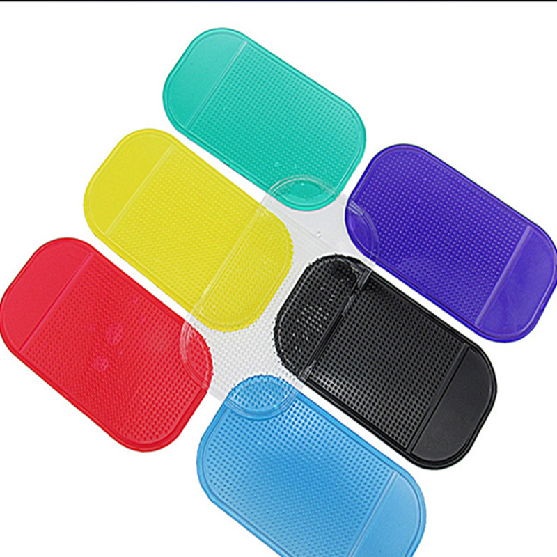 Car Mobile Phone Mp3 Mp4 Pad GPS Anti-Slip Mat Car Sticky Anti-Slip Mat Dashbord Holder Car Mats Interior Accessories
