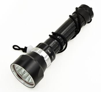 Yeni Dalış 4 * XM-L2 6000 lümen LED Taschenlampe El Feneri Su Geçirmez Lamba