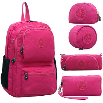 ACEPERCH Casual Backpack Original Bag Women School Backpack for Teenage Girl Mochilas Mujer With Keychain