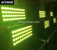 (8 Лот/Чехол) супер яркий 96 шт. 18 Вт rgbwauv led Город Цвет для строительства мыть citycolor светодиодные прожекторы освещение, твердый контейнер