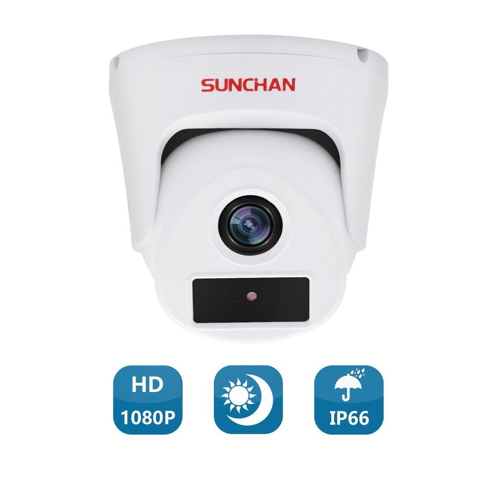 SUNCHAN 1/3'' Color CMOS 2.0MP AHDH 1080P AHD Camera CCTV IR Cut Filter Camera AHD 1080P Indoor Security Cameras