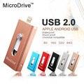 3 in 1 For iPhone ipad all Huawei Samsung micro OTG USB Flash Drive 8GB 16GB 32GB 64GB Memory Sticks To apple ipad phone tablet