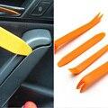 Nuevo 4 unids/set Amarillo Herramientas de Eliminación Panel Del Coche Automóvil Radio Puerta Clip Panel de Moldura Dash para Eliminación de Reparación de la Palanca del Instalador herramienta