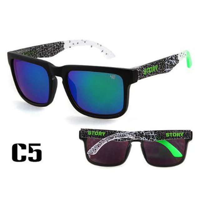 8f3cf271c91 Retro KEN BLOCK Sunglasses Men Square Frame Classic Brand Designer 2018 Hot  Rays Driving Male Sun