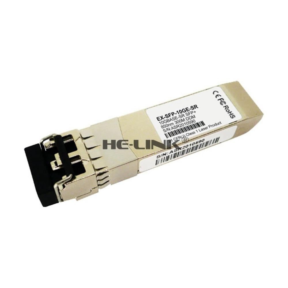 EX-SFP-10GE-SR Juniper Compatible SFP 10G SR 300M Optical Transceiver module