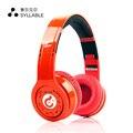Sílaba G08 Bluetooth 4.0 Auriculares de Cancelación de Ruido Auriculares Estéreo de Alta Fidelidad reemplazable batería incorporada para Android y ios móviles