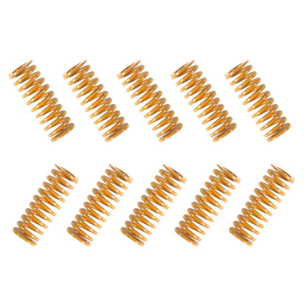 10pcs Length 20mm OD8mm ID4mm 3D Printer Parts Spring For Heated bed MK3 CR-10 hotbed Imported For 3D Printer Pressure Springs