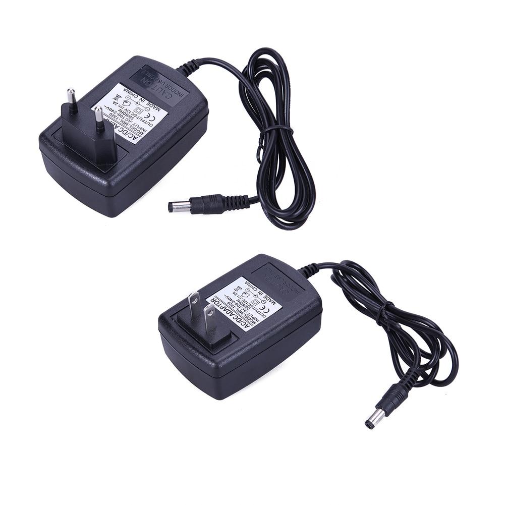 Hearty Ac To Dc Power Adapter Supply Eu Plug 100v-240v Converter 5.5mm X 2.1mm Dc 5v 2a 2000ma For Cctv Camera Led Strip Light A7 Video Surveillance