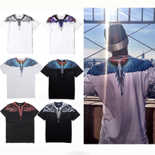 Marcelo Burlon County Of Milan Men Women T Shirt 2016 Top Version High Quality Feather Wings Super Fashion Couple T Shirts