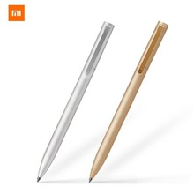 Xiaomi Mijia Metal Original Signature Pen 0.5mm Black Ink Rotating Pen For Unisex Office Business Upscale Conference Notepad