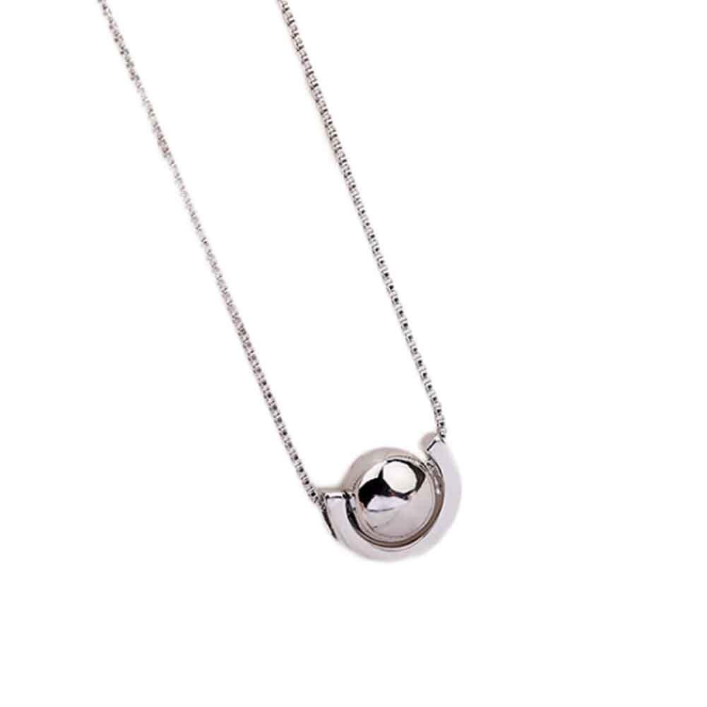 Saturn Planet Universe Necklace Pendants Fashion Simple Necklace Pendant Female Chain Clasp For Women Original Design