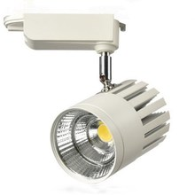 Wholesale 30W Warm Natural Cold White COB Led Track Light Soptlight Tracking Rail Shell/Black shell AC85-265V