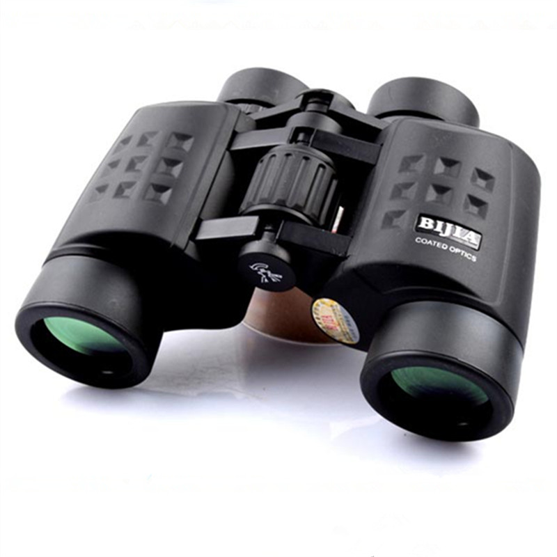 Hot Sell Genuine BIJIA12x45 Binoculars Nitrogen Waterproof Binoculars for Hunting Camping Birdwatching Telescope bijia 20x nitrogen waterproof binoculars 20x50 portable alloy body telescope with top prism for traveling hunting camping