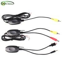 IaotuGo 2 4G colorido módulo inalámbrico receptor adaptador y transmisor para navegador cámara trasera de marcha atrás DC 9V ~ 12V Wifi adaptador|Cables  adaptadores y enchufes|Automóviles y motocicletas -