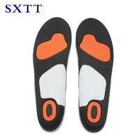 SXTT shoe insoles shock absorption PU shoes insoles breathable comfortable insoles for men and women