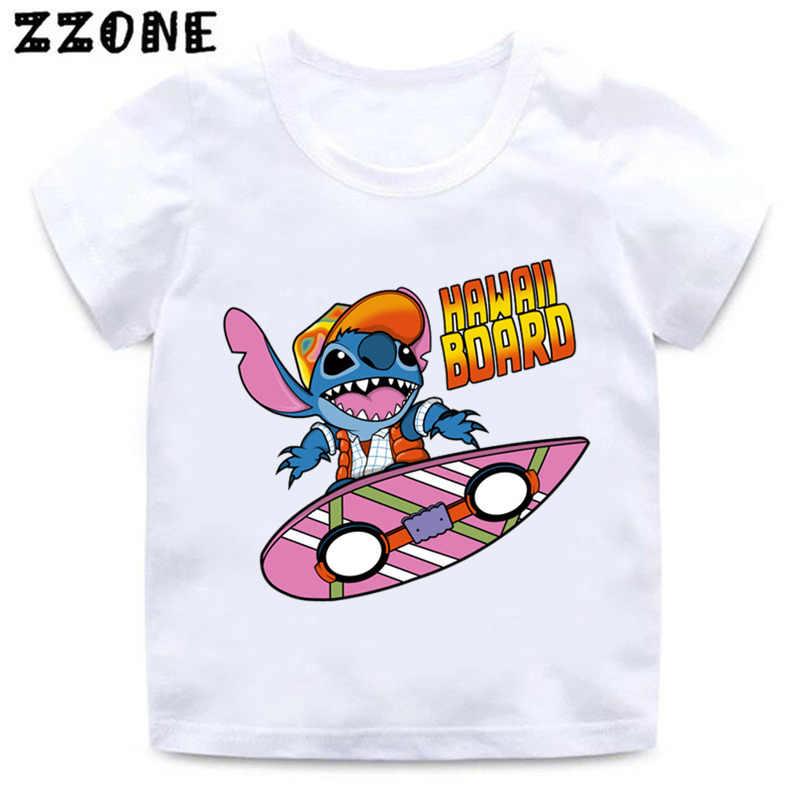 23f8f1f7090a ... Boys and Girls Cartoon Stitch and Lilo/Pikachu/BB-8 Print T shirt ...