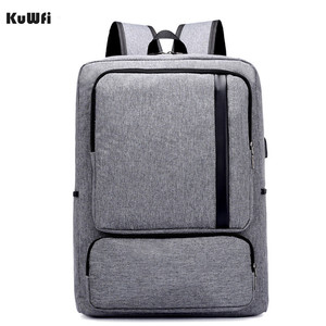 Image 2 - Multifunctional USB charging 15 Inch Backpack Waterproof Laptop Nylon Casual Business Leisure Travel Computer Bag anti thief