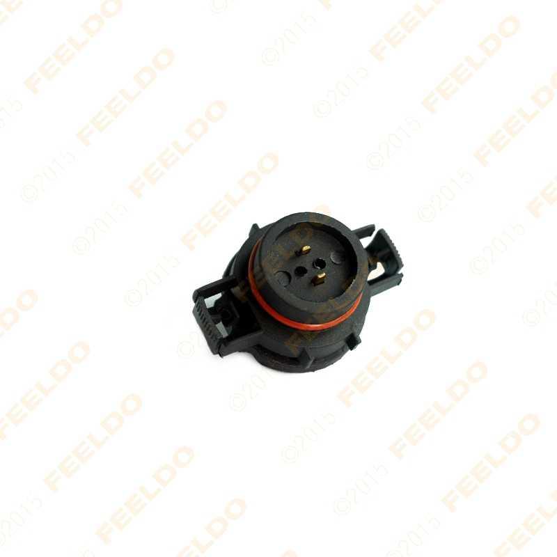 Feeldo 10 шт. H16/5202/2504/PSX24W лампы разъем для противотуманных фар держатель вилка # CA1865