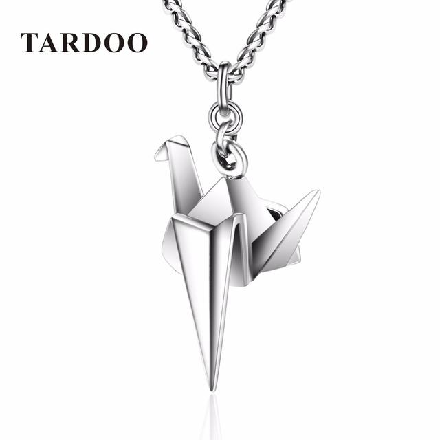 TARDOO Bird Animal de La Manera Collar de Los Colgantes para Las Mujeres y Niñas DIY Collar de Plata de Ley 925 de Plata-Joyería de Suspensión