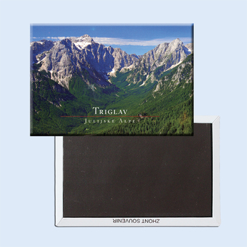 Triglav National Park of Slovenia Magnet Tourist Memorabilia Gift;20053 Decoration Gift Photo Magnets 78*54mm image