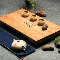 [Yan Mountain] new Chinese natural water bamboo bamboo tea tray in Tao Kung Fu tea selling models